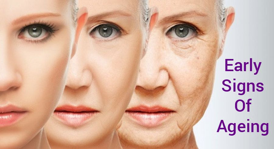 The first signs of aging